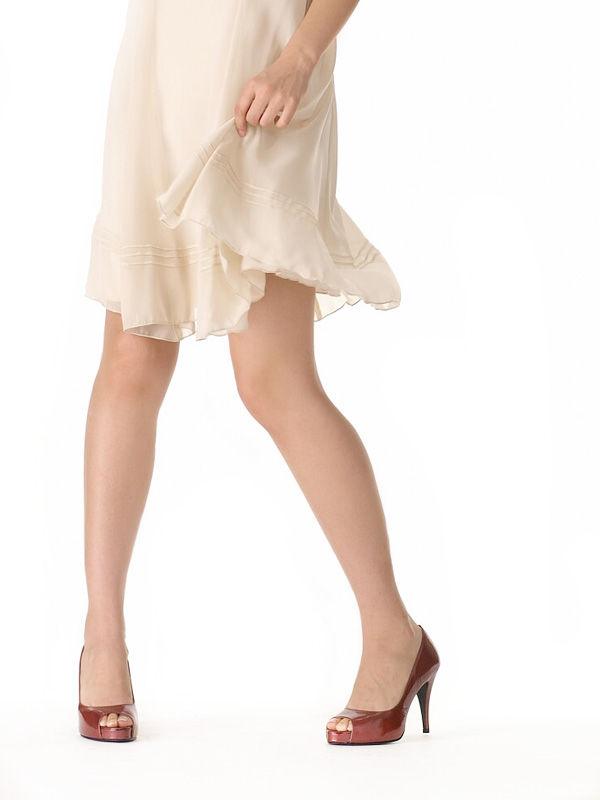 モデルさんの綺麗な脚