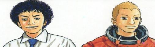 宇宙兄弟の参考資料画像