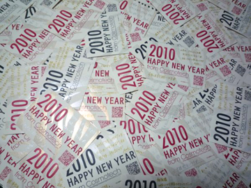 コスモテック年賀状2010