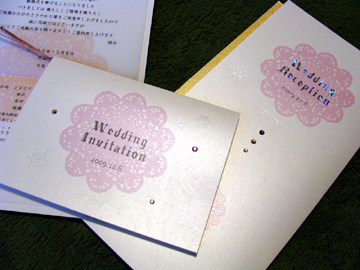 「K+M」-wedding item(1)