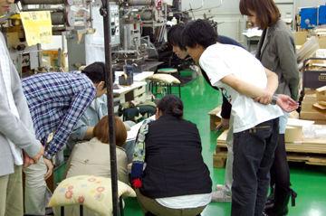 箔押しの授業+加工実験110524 - (1)