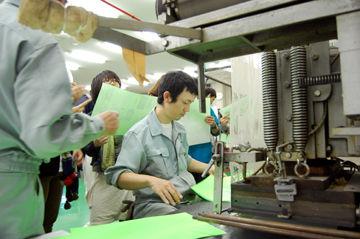 箔押しの授業+加工実験110524 - (2)