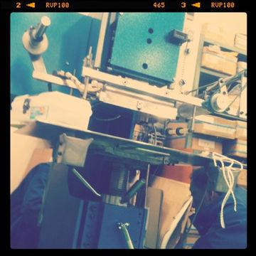 小型箔押し機 導入(2)