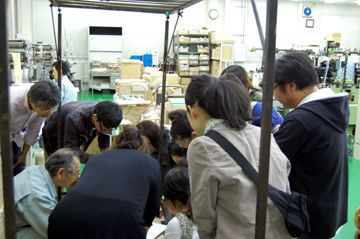 箔押しの授業+加工実験110517 - (4)