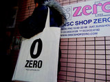 DISC SHOP ZERO ORIGINAL SHOPPING BAG