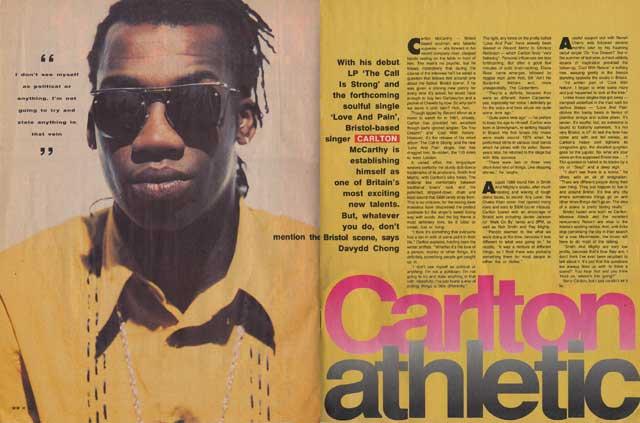 CARLTON athletic