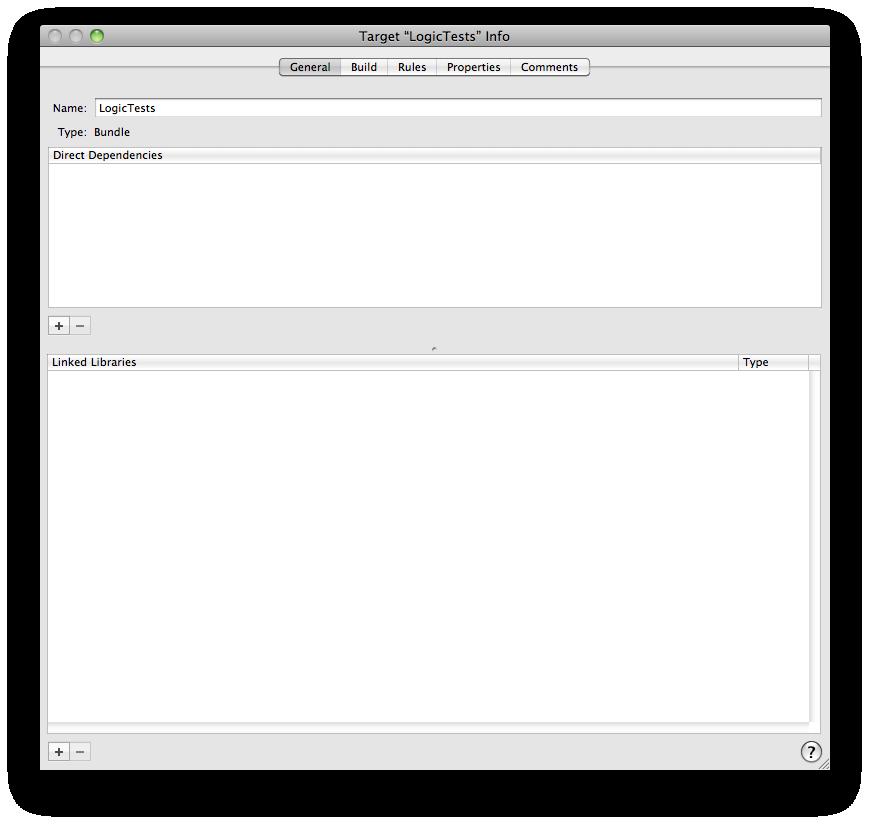 adding dependency for test target.