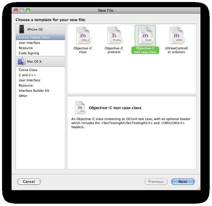 add test case files.