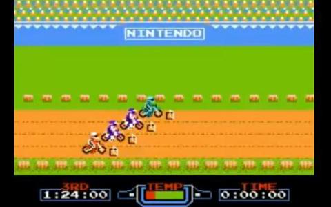 鬼エキサイトバイク GamePoint : 『エキサイトバイク』スパーライディング動画! &am