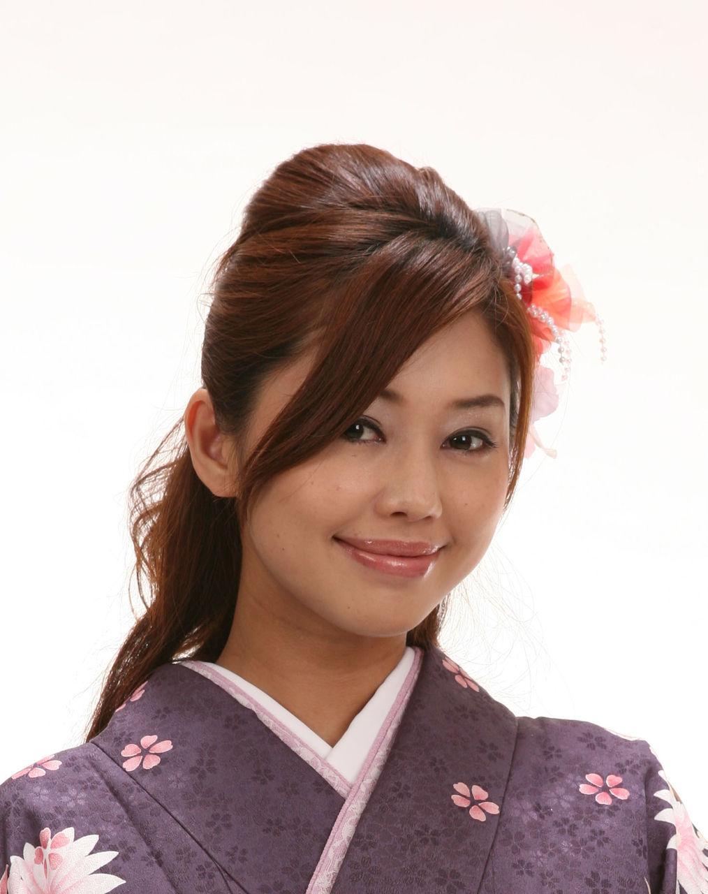 花嫁 髪型 ストレート