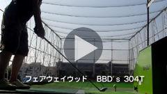 フェアウェイウッド(BBD's 304T)練習動画