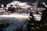 冬の浜須井海岸を行くキハ47形