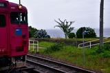鎧駅の絶景とキハ47形