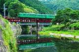 桂川を渡る113系5300番台