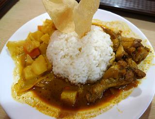 上海万博「スリランカ館」でスリランカ料理を食す!