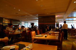 羽田発香港の旅 - シェラトン香港ホテル&タワー(香港喜来登酒店)のthe cafeで朝食を食す!
