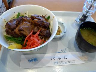 豚軟骨丼を食す! @奄美空港「パルム」
