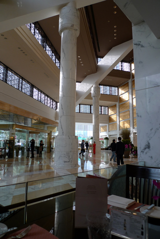 グルメの本場の海南鶏飯の味を食せる上海錦滄文華大酒店 上海JCマンダリンホテル