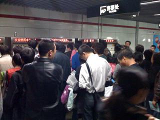 上海の交通事情〜虹橋空港〜バスで静安寺駅まで移動