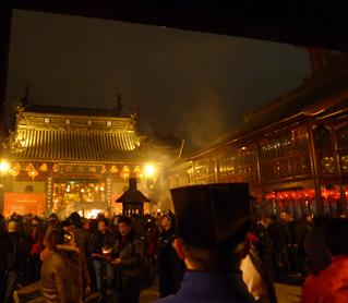 上海・豫園の城隍廟(城隍? chénghuáng miào)チェンホワンミィアオで初詣