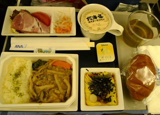 羽田発香港の旅 - 全日空のNH1275便