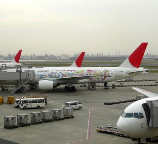 ハワイ州観光局JALとのコラボレーション。わくわくアロハジェット機
