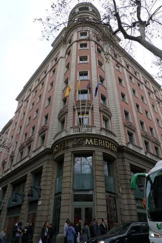 初めてのバルセロナ旅行--ル メリディアン バルセロナ(LE MERIDIEN BARCELONA)