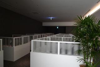 羽田新国際線ターミナルのスカイラウンジ(4階)