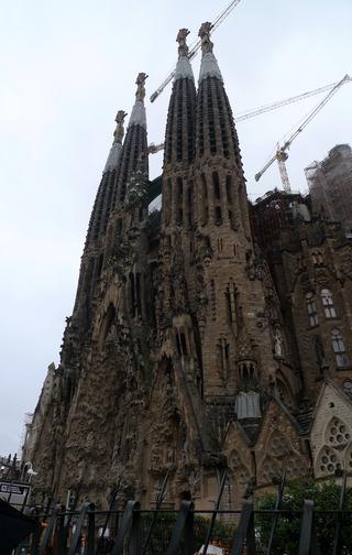 初めてのバルセロナ旅行--世界遺産のサグラダ・ファミリア @バルセロナ