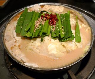 博多もつ鍋「蟻月(ありづき)arizuki」恵比寿本店でモツ鍋を食す!