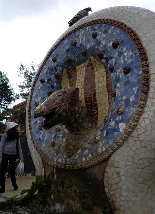 初めてのバルセロナ旅行--グエル公園 @バルセロナ
