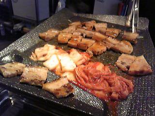 「とんきんぐ」でサムギョプサルを食す! @赤坂見附