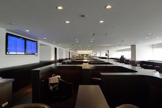 羽田空港第1ターミナルのJALラウンジ