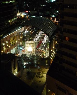 渋谷区・恵比寿ウェスティンホテル東京からの景色