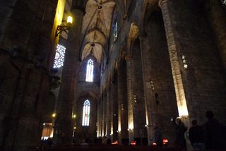 初めてのバルセロナ旅行--サンタ・マリア・デル・マル教会