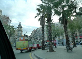 初めてのバルセロナ旅行--バルセロナのタクシー