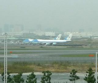 APEC「エアフォースワン」 @羽田空港