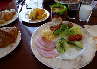 シェラトンホテル札幌「Cafe Dom」のブレックファースト
