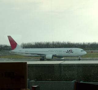 函館発のJAL1168便