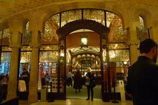 初めてのバルセロナ旅行--カタルーニャ音楽堂(Palau de la Musica Catalana) @バルセロナ
