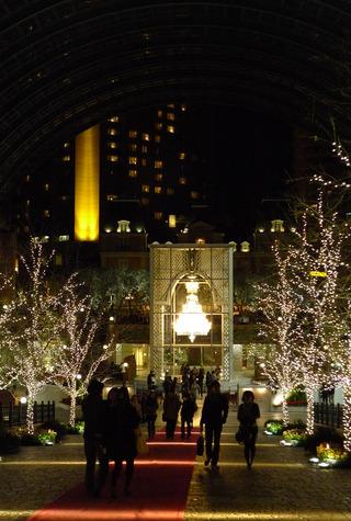 渋谷区・恵比寿ガーデンプレイスのクリスマスイルミネーション
