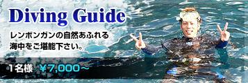 Diving Guide -�Х��祵���ե����� ���ܥ�μ������դ�볤���ǽ��������