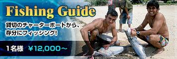 Fishing Guide - 貸切のチャーターボードから、存分にフィッシング!