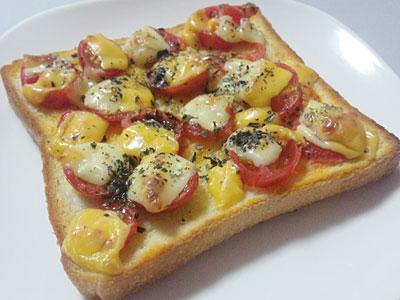 チーズトマトバジル マルゲリータ風