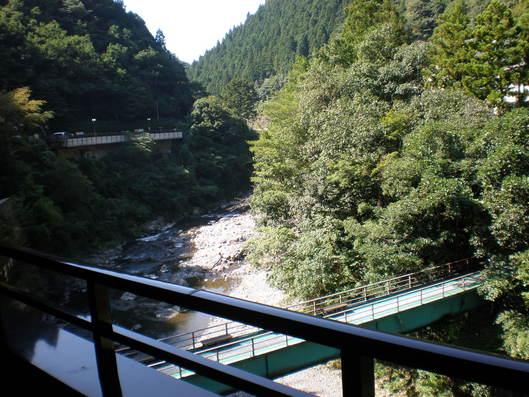 龍神温泉からの景色