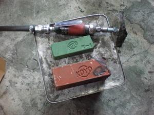 エキパイ研磨 研磨の道具