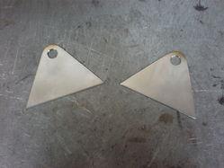 v-rod バンス&ハインズ管 ステー材料