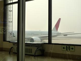 上海・虹橋発、東京羽田空港国際線ターミナル行きの日本航空「JL082」便