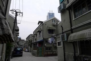 なんだか懐かしい、上海の裏通り