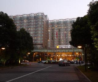 中国・上海 虹橋地区のミレニアム虹橋ホテル上海(上海千禧海鴎大酒店)MILLENNIUM HONGQIAO SHANGHAI